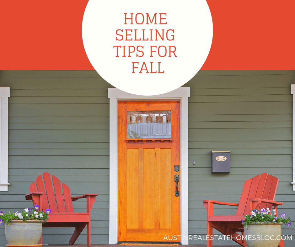 home selling tips for fall