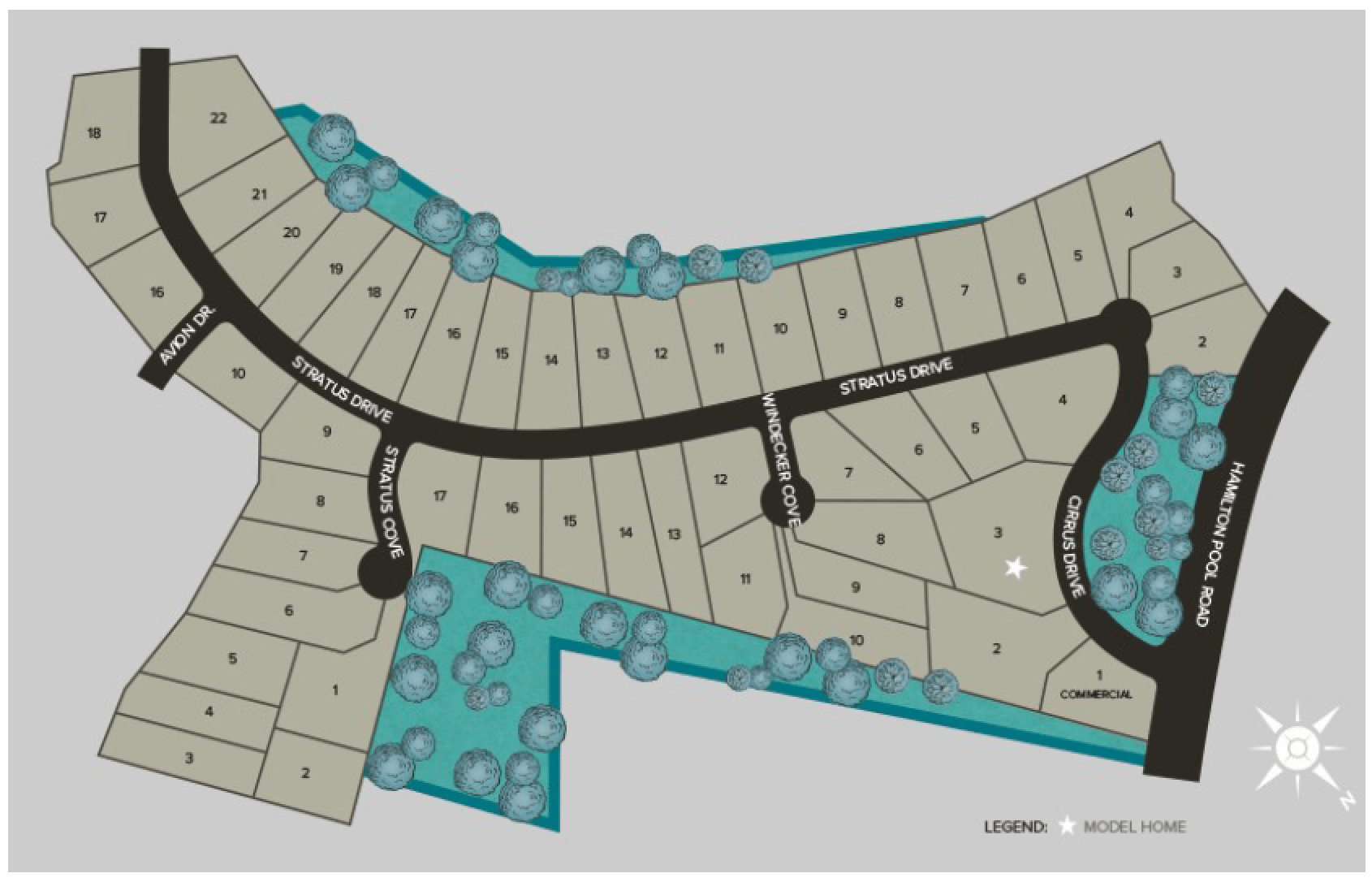 vistancia neighborhood guide map