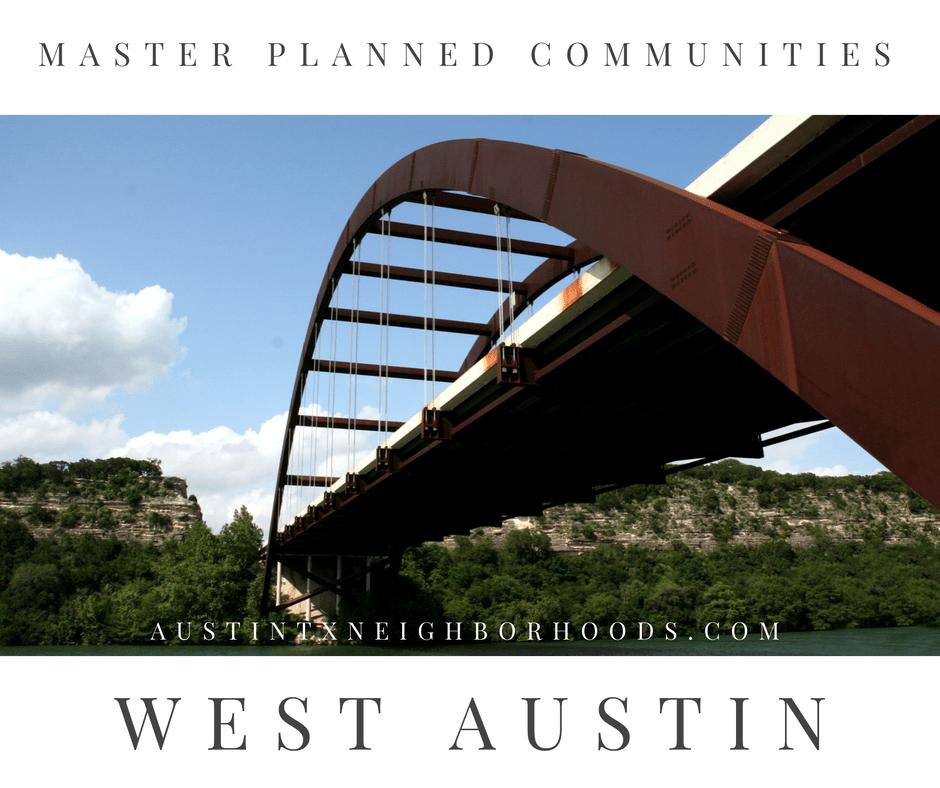 west austin master planned communities