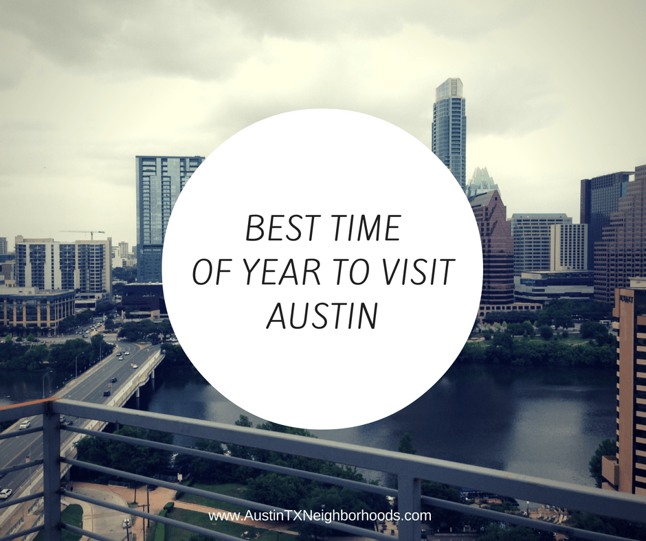 best time of year to visit austin