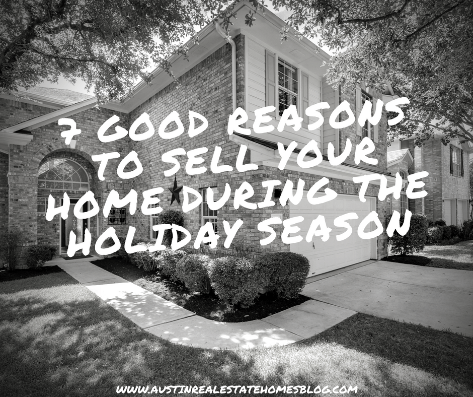 good reasons to sell home during holidays