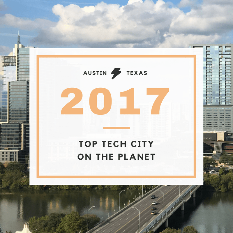 austin top tech city on the planet