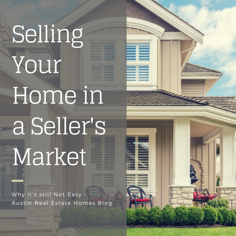 selling your home in a seller's market