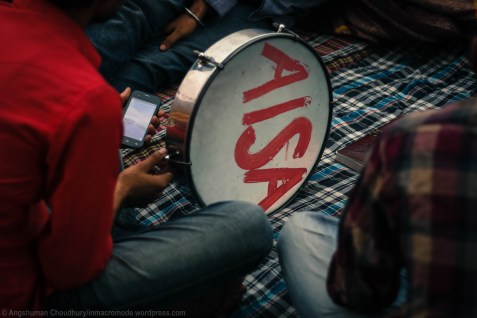 The All India Students Association (AISA) - a major student party placed on the political left - is one of the prime facilitators of the demonstrations. Given the organisation's strong grasp over JNU's student political arena and legacy of many successful mobilisations, AISA emerged as a natural facilitator of the demonstrations.