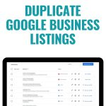 duplicate google business listings how-to