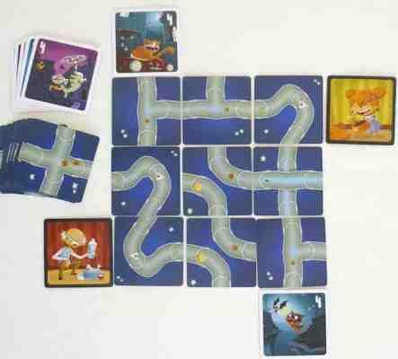 jeu labyrinthe enfant - jeu de logique et anticipation pour enfant.