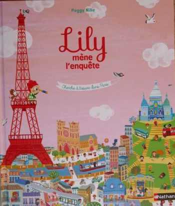 livre Lily mène l'enquête à Paris