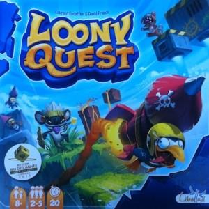 Loony Quest jeu de plateau