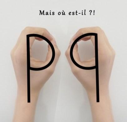 Ne plus confondre p et q
