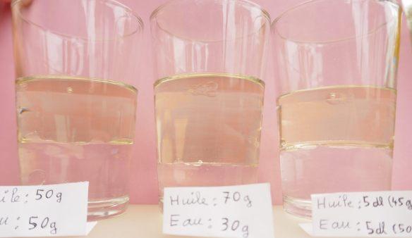 volume et poids des liquides