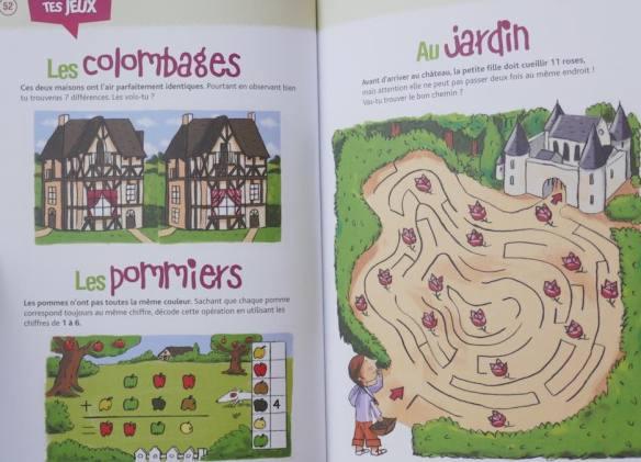 cahier de jeux Normandie