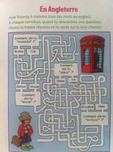 cahiers vacances avec labyrinthe