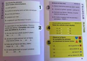 révision de français pendant les vacances cp ce1 ce2 cm1 cm2