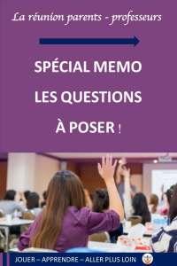 réunion de rentrée avec les enseignants rencontre parents professeurs , les questions à poser