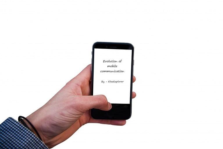 Evolution of mobile or cellular communication
