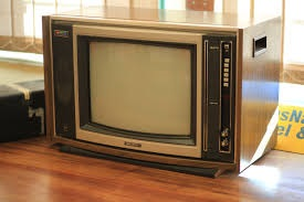 Classic TV with channel tuner