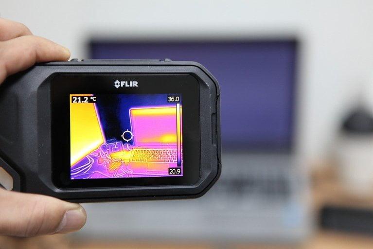 Thermal image scanning