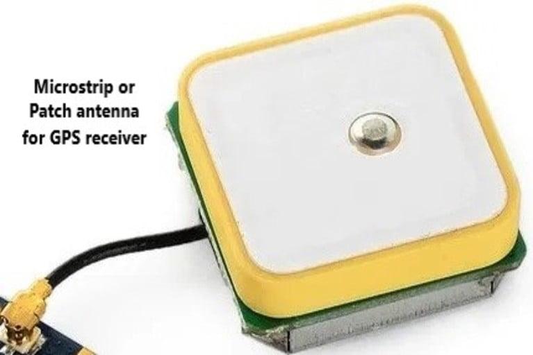 GPS patch antenna
