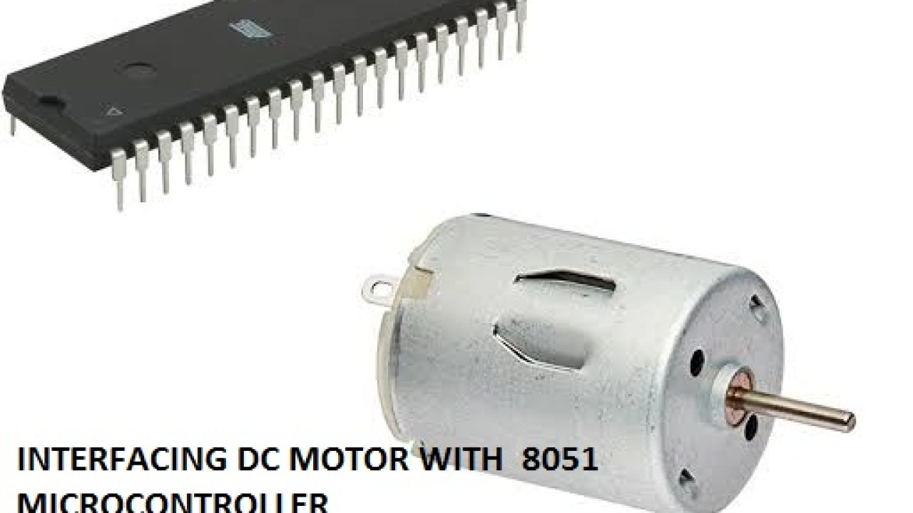 Interfacing DC Motor with 8051 with Proteus | Elex-Focus