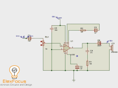 LM386 Audio Amplifier Complete diagram