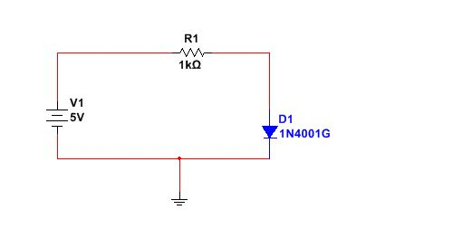 pn junction diode characteristics circuit diagram- forward bias