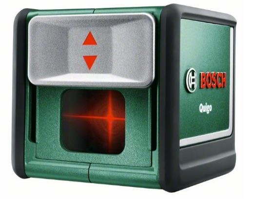 Bosch QUIGO II 0603663200 - Nivel láser, color verde