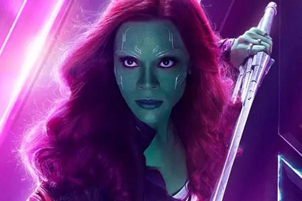 Zoe Saldana habla sobre la gran participación de Gamora en Infinity War [Spoiler]