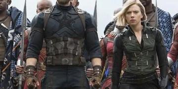 Avengers capitán américa viuda negra