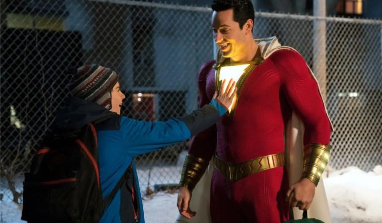 Shazam 2: La primera imagen oficial revela los 6 trajes de superhéroe rediseñados