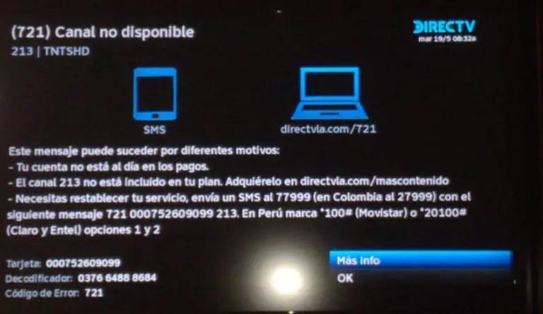 La señal de DirecTV regresa a Venezuela