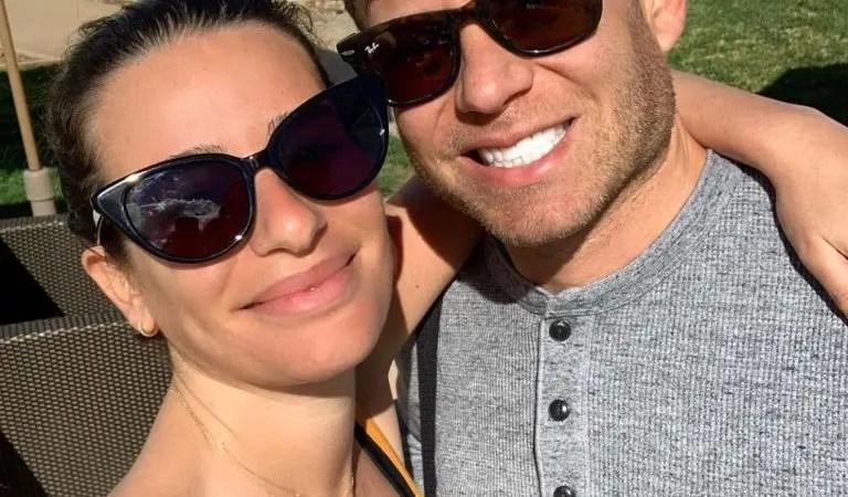 Lea Michele y su esposo presentaron a su primera hija juntos