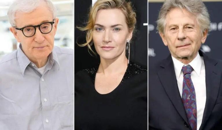 Kate Wisnlet arrepentida de trabajar con Woody Allen y Roman Polanski