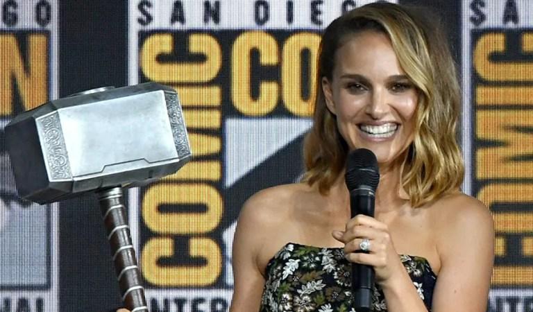 Natalie Portman detalla la rutina de entrenamiento de Thor : Love and Thunder