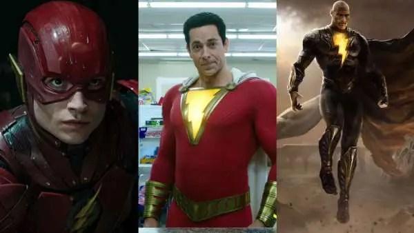 The Flash, Shazam y Black Adam retrasan sus estrenos por decisión de Warner