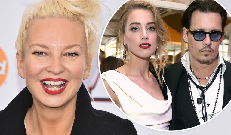 Sia sale en defensa de Johnny Deep en pleito legal contra Amber Heard