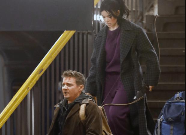 Ojo de Halcón: Filtran fotos del rodaje se la serie confirman Haile Steinfeld como Kate Bishop