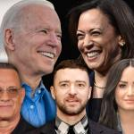 Tom Hanks, Justin Timberlake y Demi Lovato