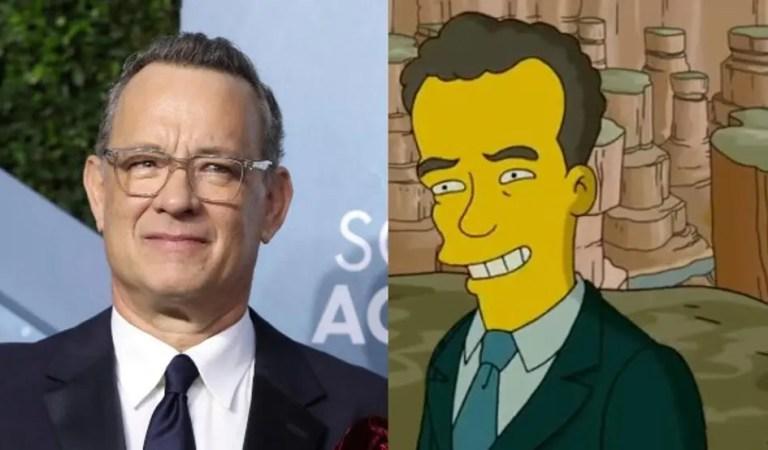 Sí, los Simpsons lo predijeron:  Tom Hanks conducirá la ceremonia de inauguración de Biden