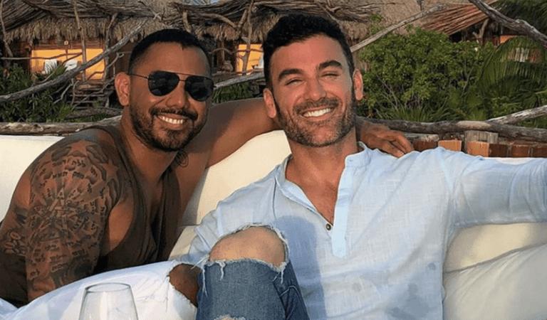 ¡Y qué viva el amor! Mauricio Mejía y Enrique Guzmán celebran el éxito de su reality show 😍💍
