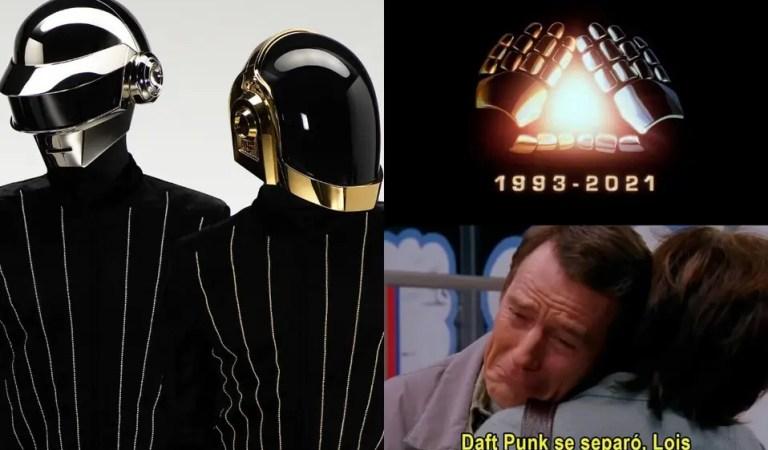 Daft Punk se separan pero nos dejan su música y unos buenos memes