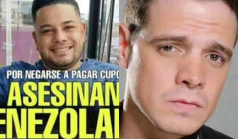 Marko Música publica dantesco video de cómo asesinan a un venezolano en Perú y pide justicia