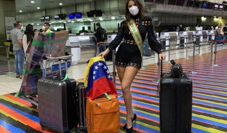 En busca de la segunda corona: Miss Grand Venezuela partió a Tailandia 👑🇻🇪