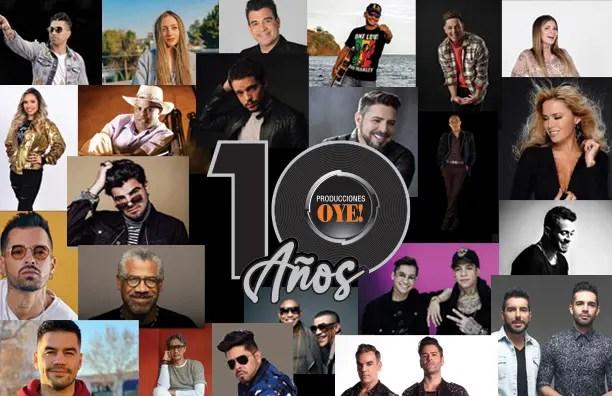 ¡Bravo! Producciones Oye celebró una década brindando lo mejor del entretenimiento 👏🥳