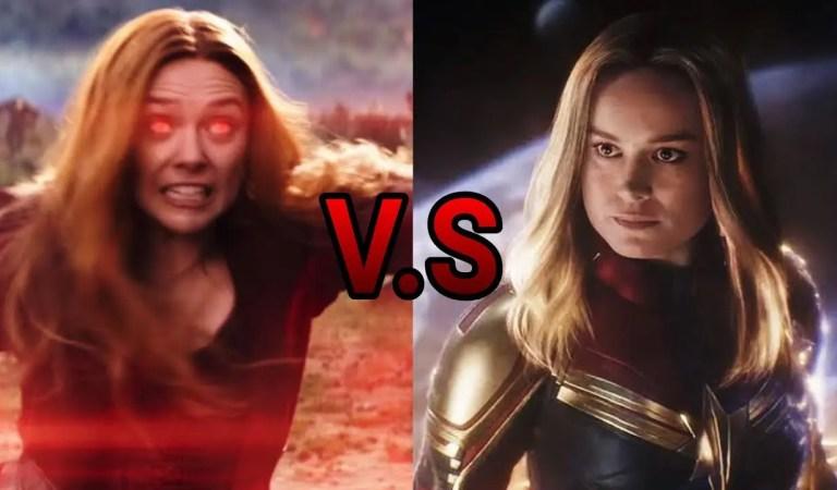 Brie Larson se picó y dijo que Capitana Marvel es más fuerte que Bruja Escarlata