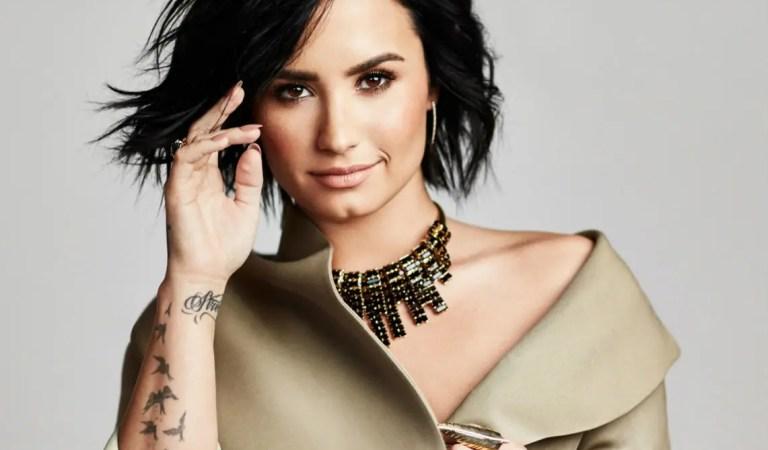 Demi Lovato considera que las drogas también causan efectos positivos 🤔😬