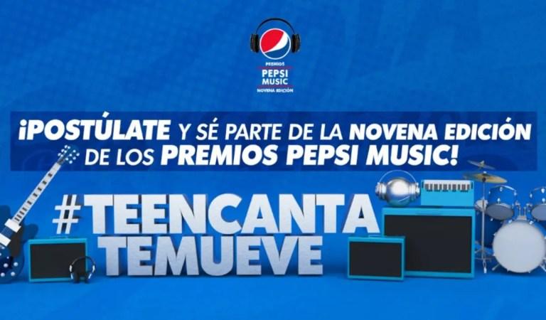 Premios Pepsi Music anunció que quedan pocos días para que terminen sus postulaciones ✏️🏆