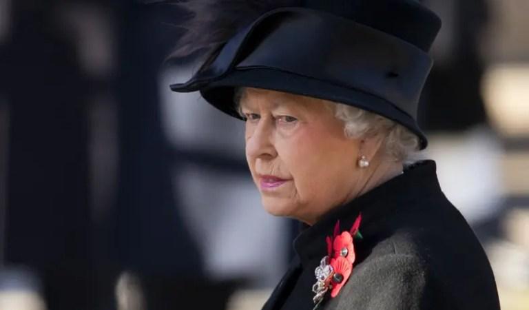 Reina Isabel II entierra a su esposo, el príncipe Felipe de Edimburgo 👑🖤