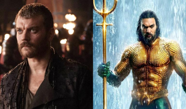 Reunión de Game Of Thrones en DC:  Pilou Asbæk se une con Jason Momoa para Aquaman 2