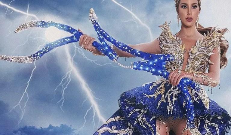 Revelaron el traje típico de Mariángel Villasmil, Miss Venezuela 2020 🇻🇪⚡️