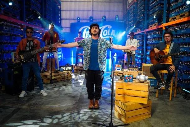 Hay nuevo episodio: Andrés Mata es el protagonista de la nueva edición de Pepsi en Vivo 🎤🎶